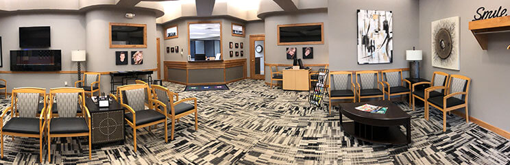 Dakota Dental Health Center Lobby wide shot